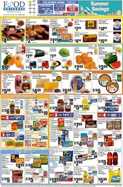 Grocery & Drug deals in the Food Universe catalog ( Published today)