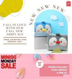 Miniso deals in the Miniso catalog ( 9 days left)