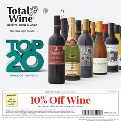 Total Wine deals in the Total Wine catalog ( 15 days left)