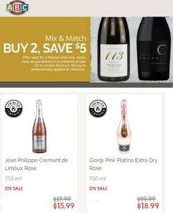 ABC Fine Wine & Spirits deals in the ABC Fine Wine & Spirits catalog ( 4 days left)