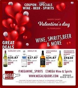Mega Wine & Spirits catalogue ( Expired )