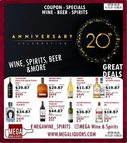 Mega Wine & Spirits catalogue ( 5 days left )
