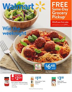 Walmart deals in the Fullerton CA weekly ad