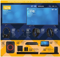 TV deals in Walmart