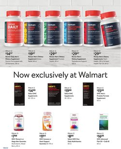GNC deals in the Walmart catalog ( 8 days left)