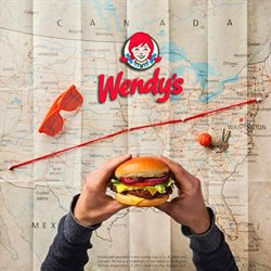 Wendy's deals in the Houston TX weekly ad