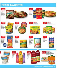 Juice deals in the Aldi weekly ad in New York