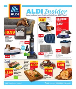 Chicken breast deals in the Aldi weekly ad in East Lansing MI