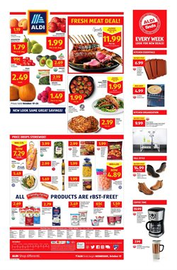 Discount Stores deals in the Aldi weekly ad in Tustin CA