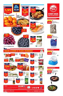 Aldi deals in the Jacksonville FL weekly ad