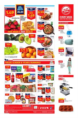 Discount Stores deals in the Aldi weekly ad in Pontiac MI