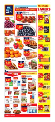 Discount Stores deals in the Aldi weekly ad in Yorba Linda CA
