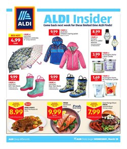 Aldi deals in the San Diego CA weekly ad