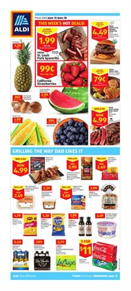 Discount Stores deals in the Aldi weekly ad in Fullerton CA