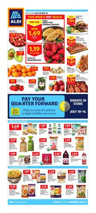 Aldi deals in the Philadelphia PA weekly ad