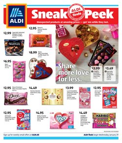 Aldi deals in the Spring TX weekly ad