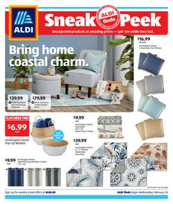 Aldi catalogue ( 6 days left )