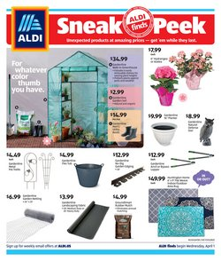 Discount Stores offers in the Aldi catalogue in Iowa City IA ( Expires tomorrow )