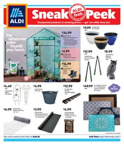 Discount Stores offers in the Aldi catalogue in San Luis Obispo CA ( 2 days left )