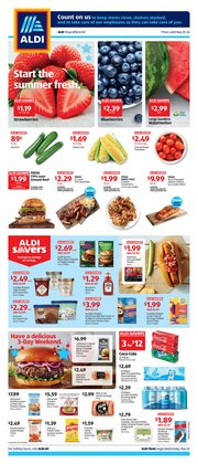 Discount Stores offers in the Aldi catalogue in Saint Petersburg FL ( Expires tomorrow )