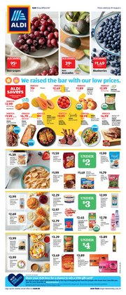 Aldi catalogue in Huntsville TX ( Expires tomorrow )