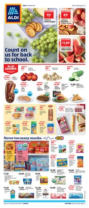 Aldi catalogue in Dearborn Heights MI ( Expires today )