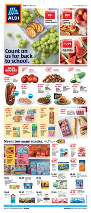 Discount Stores offers in the Aldi catalogue in Waterloo IA ( Expires today )