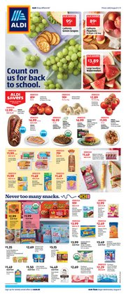 Discount Stores offers in the Aldi catalogue in Kingsport TN ( Expires tomorrow )