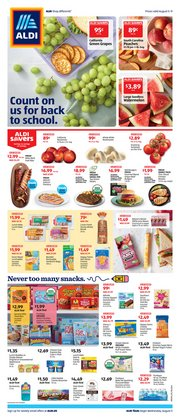 Discount Stores offers in the Aldi catalogue in Toledo OH ( Expires today )