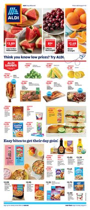 Discount Stores offers in the Aldi catalogue in Morgantown WV ( Expires tomorrow )