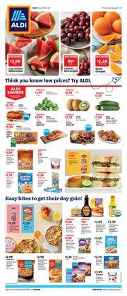Aldi catalogue in New York ( Expires today )