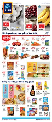 Discount Stores offers in the Aldi catalogue in Van Nuys CA ( 3 days left )