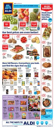 Aldi catalogue ( 1 day ago )