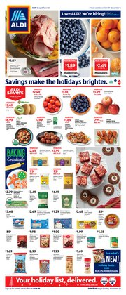 Discount Stores offers in the Aldi catalogue in New York ( 1 day ago )