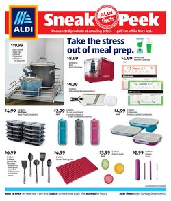 Aldi catalogue in Milwaukee WI ( Expired )