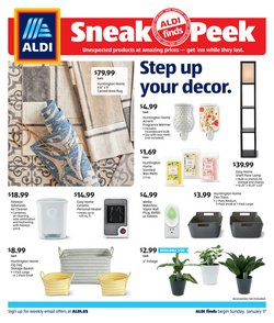 Aldi catalogue ( 4 days left )