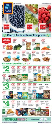 Discount Stores offers in the Aldi catalogue in Joliet IL ( Expires tomorrow )