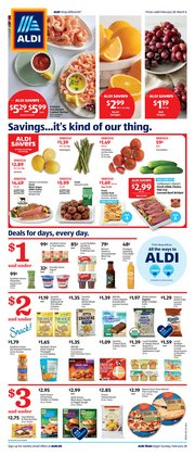 Aldi catalog ( 3 days left)