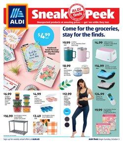 Discount Stores deals in the Aldi catalog ( 11 days left)