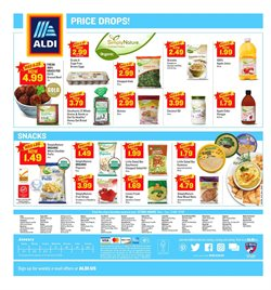 Oil deals in the Aldi weekly ad in Houston TX