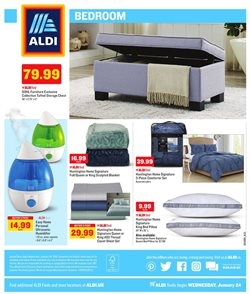 Bed deals in the Aldi weekly ad in Dallas TX