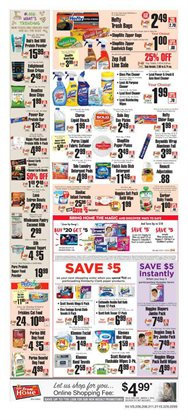 Bleach deals in the ShopRite weekly ad in New York