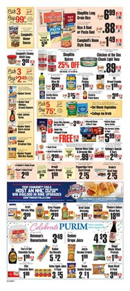 Campbell's deals in the ShopRite weekly ad in New York