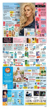 Pharmaceutical products deals in the ShopRite weekly ad in New York