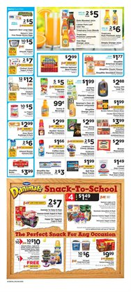 Juice deals in the ShopRite weekly ad in New York