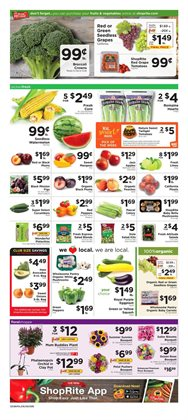 Bella deals in the ShopRite weekly ad in New York