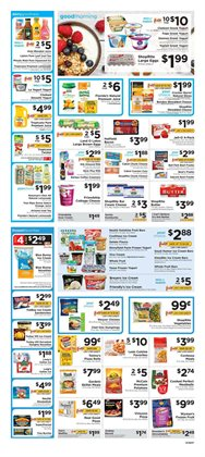 Soccer goal deals in the ShopRite weekly ad in New York