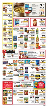 Pasta deals in the ShopRite weekly ad in New York