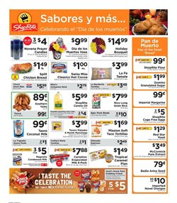Flower deals in the ShopRite weekly ad in New York