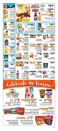 Yogurt deals in the ShopRite weekly ad in New York